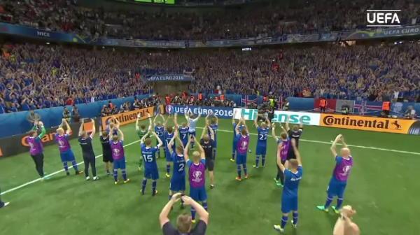 Ce o asteapta pe Romania in Islanda! Islandezii vor incerca sa-i intimideze pe tricolori cu celebrul lor salut viking