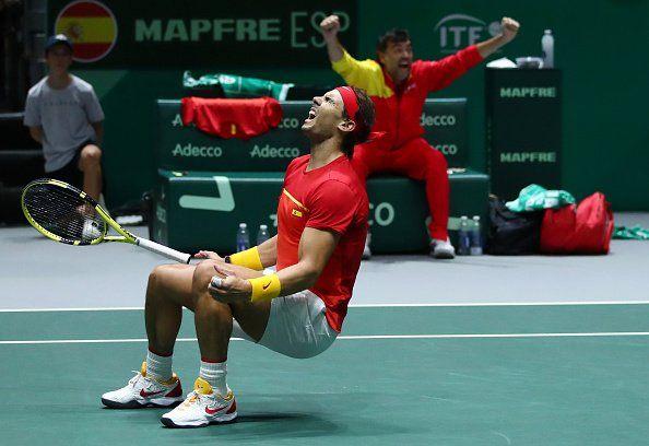 EXTRATERESTRUL RAFA NADALcastiga AL PATRULEA MECI IN 48 DE ORE la Cupa Davis si califica Spania in FINALA cu Canada | Programul finalei
