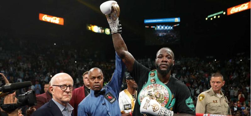 """L-a facut KO in runda a 7-a! Victorie URIASA pentru Wilder in fata lui Ortiz! L-a lasat lat si l-a egalat pe Muhammad Ali: """"Urmeaza Tyson Fury!"""""""