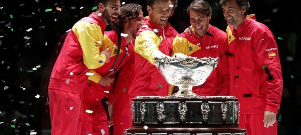 """Cupa Davis: Spania castiga pentru a sasea oara """"Salatiera de Argint"""""""