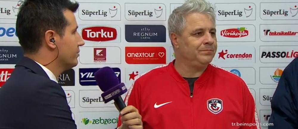 """No perdemos. Ganamois un punto, no perdemois dois!"" Sumudica, bucuros dupa 1-1 cu Antalyaspor! Ce a spus dupa meci"