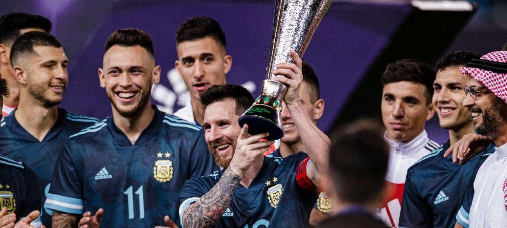 Revenire in forta pentru Messi! Ce semnifica primul trofeu castigat de Messi la nationala