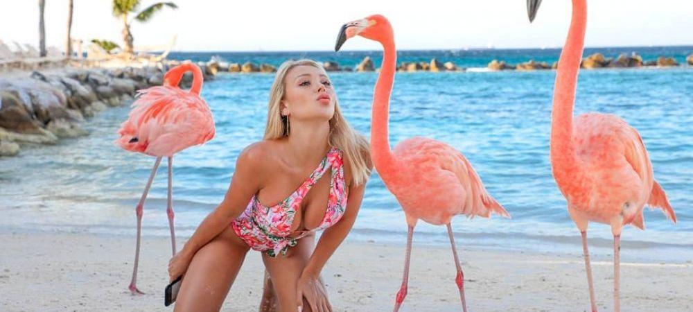 INTERZIS CARDIACILOR! Modelul Playboy a RENUNTAT la costumul de baie pe plaja, de fata cu toata lumea! VIDEO INCENDIAR