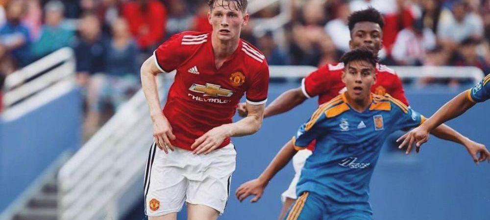 IMPRESIONANT! Max Taylor face parte din lotul lui United pentru meciul cu Astana la DOAR 12 luni dupa ce a inceput chimioterapia impotriva cancerului
