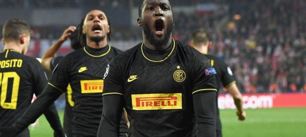 RASISM, DIN NOU! Romelu Lukaku a fost IAR victima rasismului in meciul Slavia Praga - Inter! Belgianul a reactionat cu gol si o SUPER PASA de gol