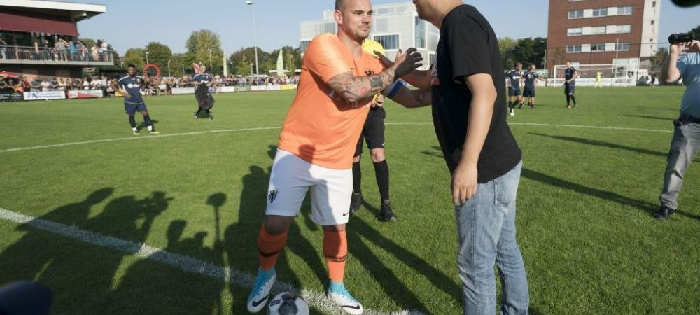 """Sneijder surprinde pe toata lumea! """"El este cel mai bun fotbalist alaturi de care am jucat"""""""