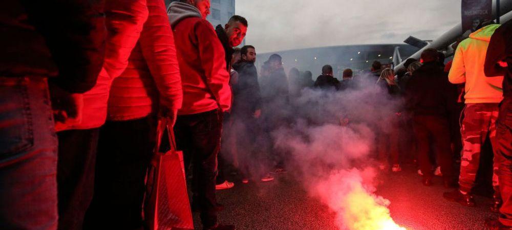 DIN NOU SANGE IN EUROPA LEAGUE! Fanii lui Standard Liege si Wolverhampton s-au luat la bataie in Portugalia