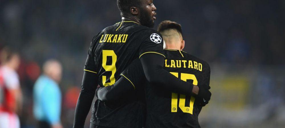 GEMENII GOLULUI! La-Lu, noul cuplu de COSMAR din fotbalul international! Cum au fost surprinsi atacantii lui Inter dupa meciul cu Slavia