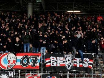 """SCENE incredibile in Austria la meciul dintre LASK Linz si Rapid Viena! Ultrasii au aruncat cu pesti pe teren! Reactia de milioane a unuia dintre jucatori:""""Le multumesc!"""""""