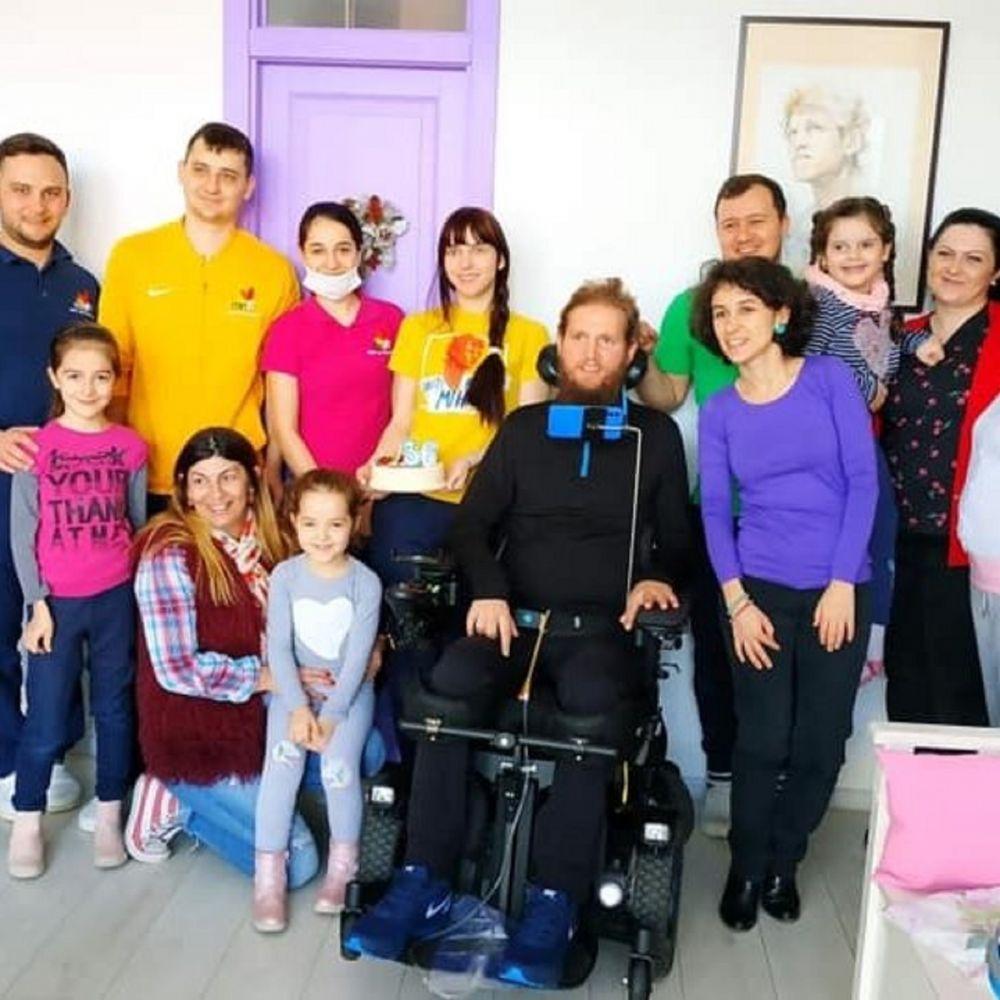 IMPRESIONANT! Mihai Nesu, campanie EMOTIONANTA pentru copiii cu dizabilitati! Fostul fotbalist construieste cel mai mare complex pentru copii