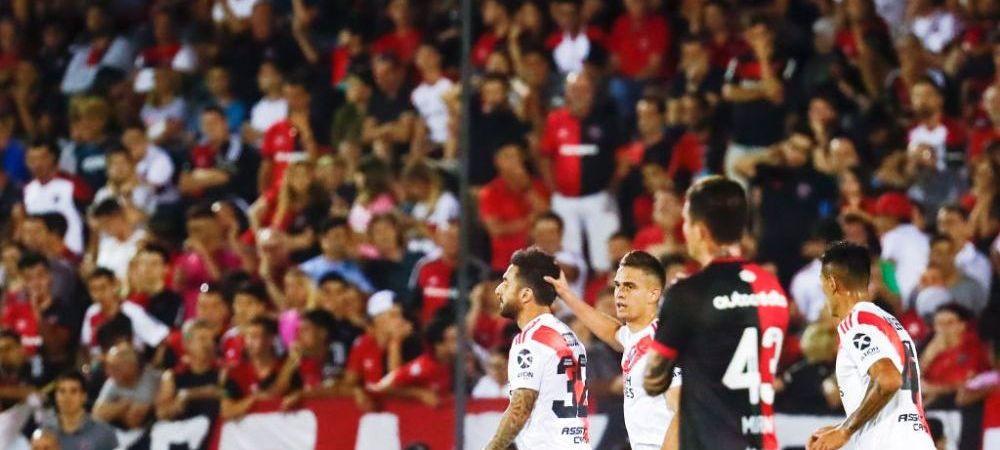 """Imagini SOCANTE la meciul lui River Plate! Un fan a sarbatorit victoria echipei sale cu o """"liniuta""""! VIDEO"""