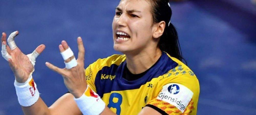 ROMANIA - UNGARIA 28-27  NEAGU! NEAGU! NEAGU! Cristina marcheaza la ultima faza si califica Romania in Main Round!