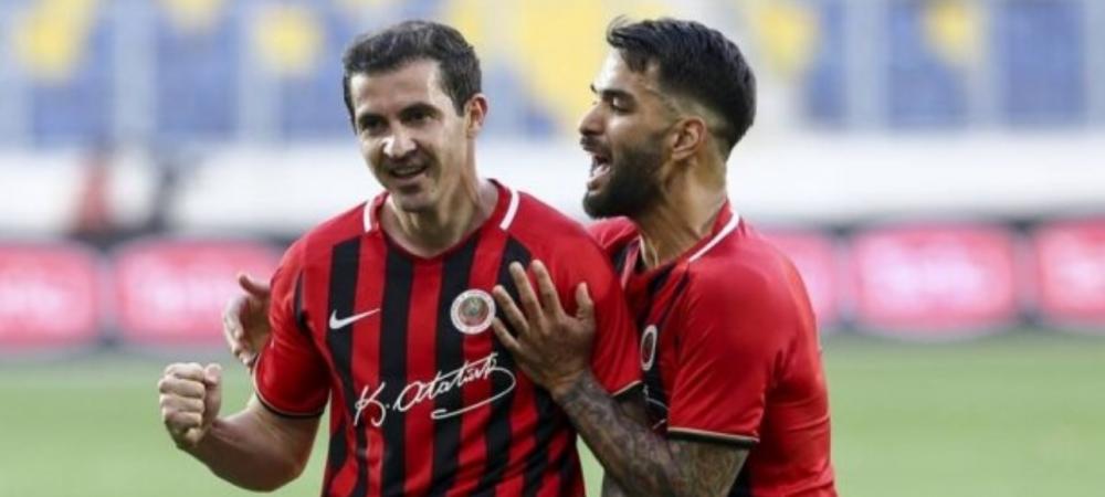 """Bogdan Stancu loveste din nou! """"Motanul"""" a inscris in poarta celor de la Fenerbahce si este la o singura reusita de golgheterul Turciei"""