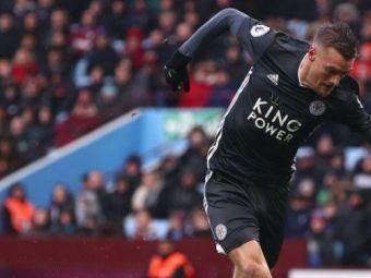 FA-BU-LOS! Vardy e de neoprt! Atacantul lui Leicester a marcat din nou si intra in istoria Premier League! VIDEO
