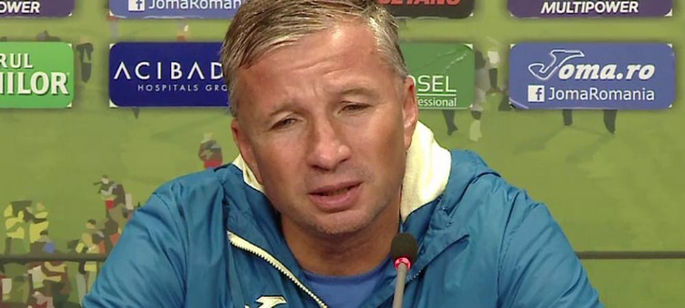 "FC BOTOSANI - CFR CLUJ 2-1   Dan Petrescu l-a trimis pe secundul Minteuan sa vorbeasca! Antrenorul campioanei NU a vrut sa ofere declaratii dupa infrangerea cu Botosani: ""Am fost rugat sa vin eu!"""