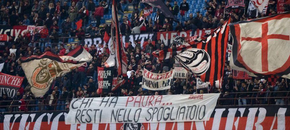 SOCANT! Un suporter AC Milan a fost injunghiat pentru ca primise sortul unui jucator dupa meciul cu Bologna