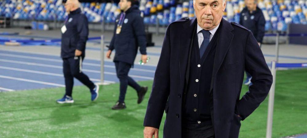Carlo Ancelotti a fost DEMIS de la Napoli, desi echipa s-a calificat in optimile Champions League! Anuntul facut imediat dupa meci