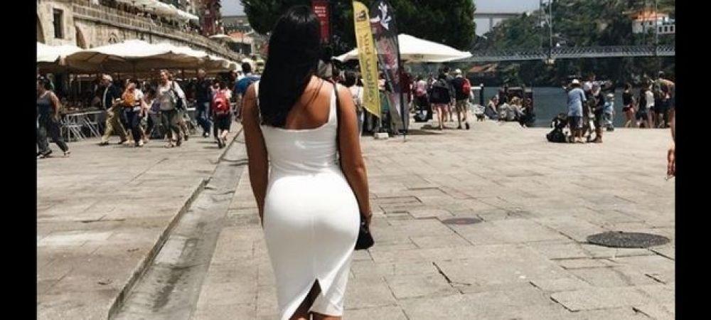 FOTO   Ea e Kim Kardashian de Romania! Iubita unui jucator de la FCSB face senzatie in Portugalia