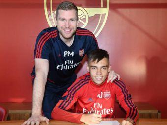 Un roman a semnat PRIMUL CONTRACT profesionist cu Arsenal! Anuntul facut de club si declaratia jucatorului