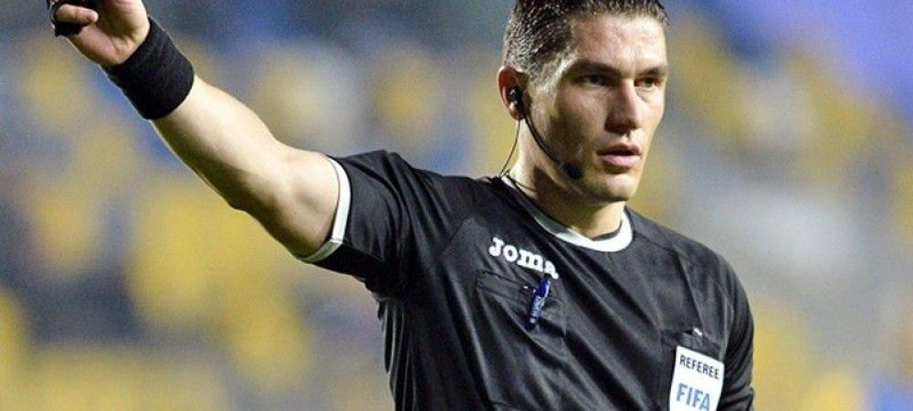 Istvan Kovacs, promovat de UEFA! A intrat in topul celor mai buni arbitri ai Europei