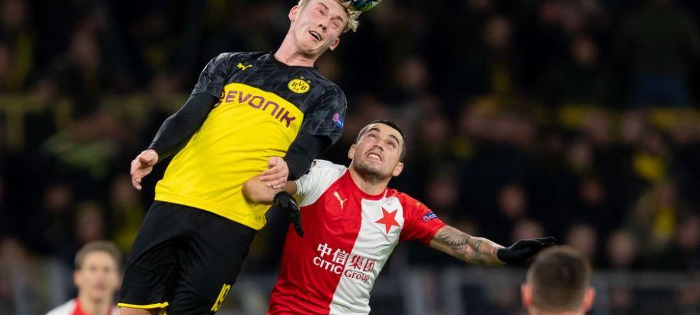 """Declaratiile lui Nicolae Stanciu dupa meciurile Slaviei cu Barcelona, Inter sau Dortmund: """"Din 6 meciuri, am fost mai buni in 5 dintre ele!"""""""
