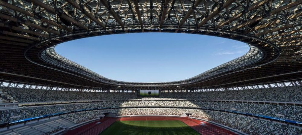 GALERIE FOTO Cum arata Stadionul Olimpic din Tokyo, finalizat de japonezi inainte de termen