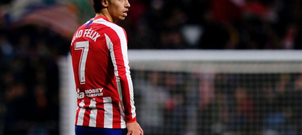 """Noul Golden Boy al Europei socheaza! Nici nu a venit bine la Atletico Madrid ca Joao Felix se gandeste la plecare: """"Mi-ar placea sa joc alaturi de Cristiano Ronaldo"""""""