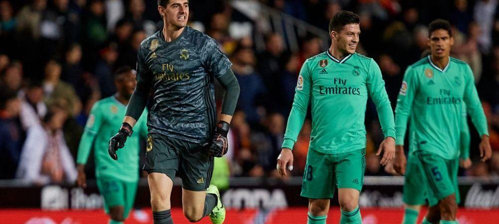 Courtois ar putea fi suspendat INAINTE de El Clasico! Gestul portarului lui Real Madrid din ultimul meci i-ar putea aduce o sanctiune