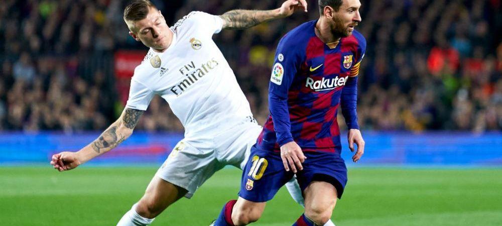 BARCELONA - REAL MADRID 0-0! Remiza alba intr-un El Clasico plin de CONTROVERSE! Madrilenii au avut un penalty neacordat