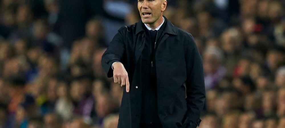 Zinedine Zidane se declara multumit de prestatia madrilenilor, insa considera ca arbitrii au gresit grav