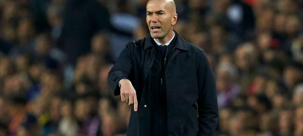 UNICUL ZIDANE! Antrenorul madrilenilor a intrat in istoria clubului! Niciun alt antrenor nu a mai reusit asa ceva! Ce a reusit antrenorul lui Real Madrid