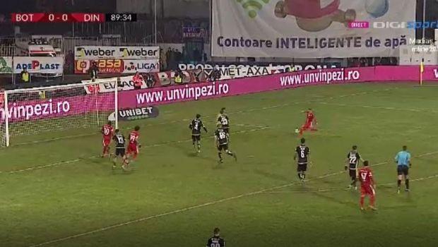 Botosani - Dinamo 1-0 | Dinamo pierde in prelungirile partidei si se distanteaza la 5 puncte de locurile de play-off