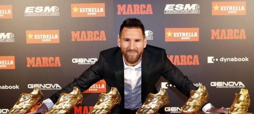 Cum arata clasamentul Gheata de Aur: anonimii Sorga, Shkurin, Weissman si Wilczek stau mult mai bine decat Messi si Cristiano Ronaldo