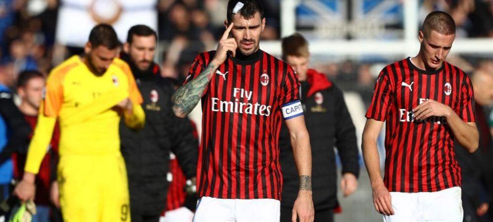 """Milan a fost SPULBERATA de Atalanta in Serie A! """"Rosssoneri"""" au primit cea mai drastica corectie din 1998 pana in prezent"""