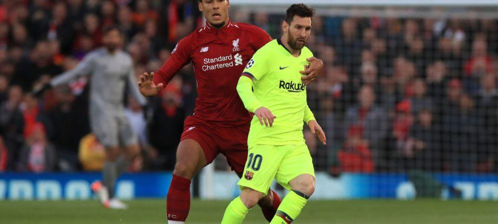 """""""Am fost putin dezamagit..."""" Ce au discutat van Dijk si Messi dupa decernarea Balonului de Aur"""