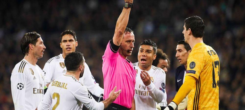 Courtois face PRAF sistemul VAR din Spania, dupa ce Real Madrid nu a primit 2 penalty-uri in El Clasico