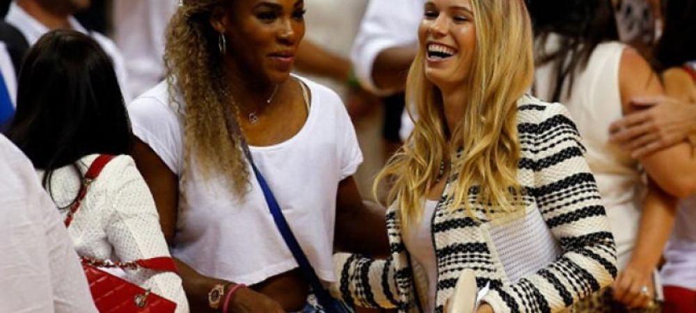 ECHIPA DE FOC: Serena Williams si Caroline Wozniacki vor face echipa de dublu la WTA Auckland, penultimul turneu al carierei pentru daneza