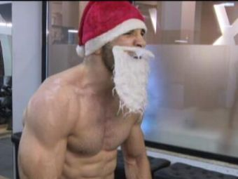 Cel mai puternic Mos Craciun a facut marele anunt! McGregor vine la anul in Romania!