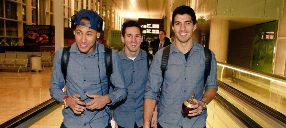 Messi, Suarez si Neymar, din nou impreuna! Tripleta letala din atacul Barcelonei este pregatita sa faca senzatie! Cu ce ocazie se vor intalni fotbalistii
