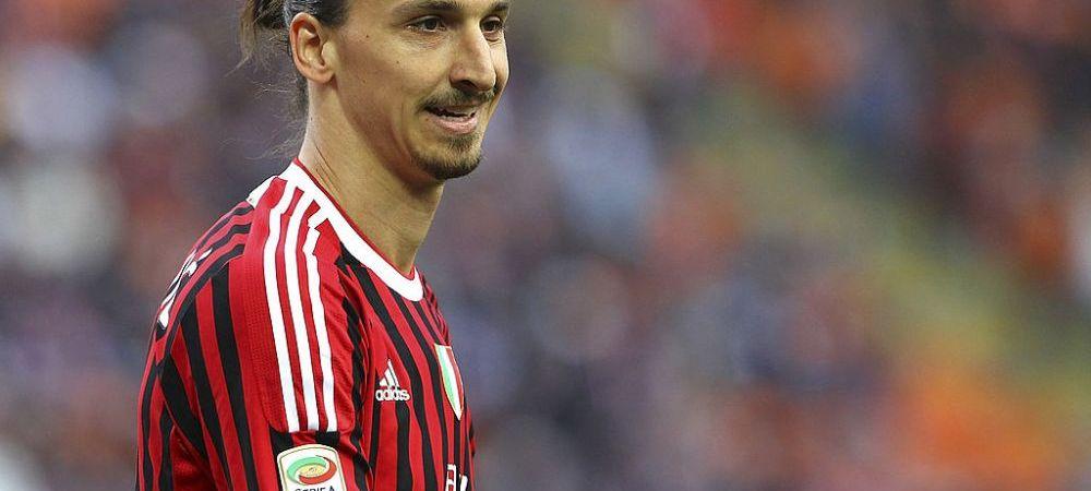 Zlatan Ibrahimovic a acceptat oferta si va evolua la AC Milan din aceasta iarna