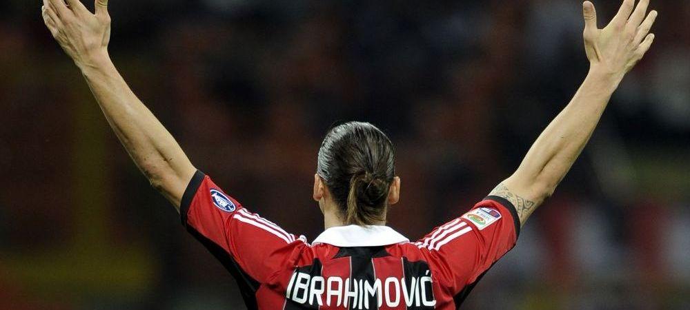 E GATA! Ibrahimovic este OFICIAL jucatorul lui AC Milan! Zlatan, prezentat ca un ZEU la echipa