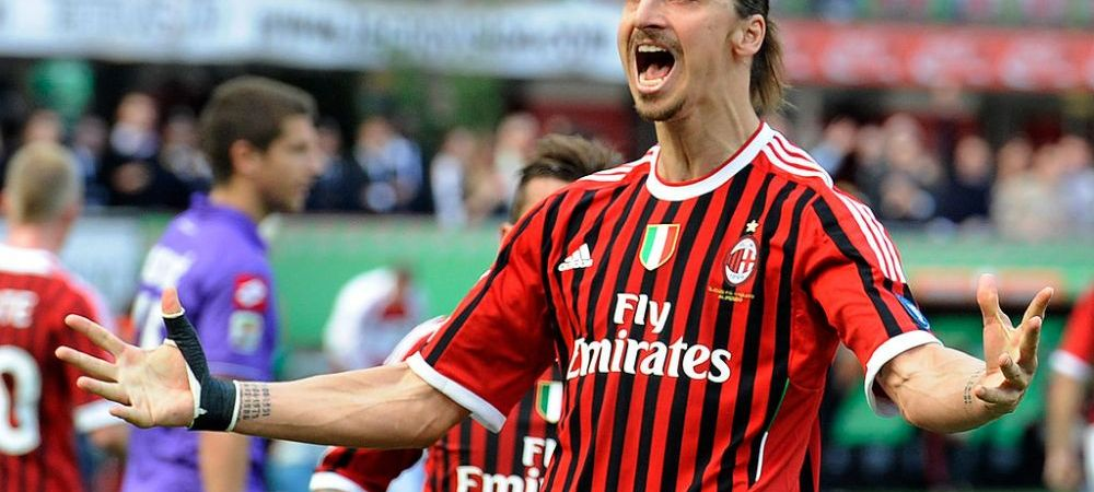 AC Milan plateste scump pentru transferul lui Zlatan Imbrahimovic! Ce salariu va incasa suedezul in numai 6 luni