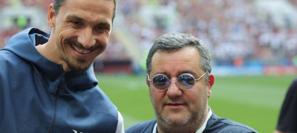 """Anul lui Raiola! Declaratiile EXPLOZIVE ale unuia dintre cei mai importanti impresari din fotbal: """"Zlatan va fi ca in ultimul turneu al celor de la Queen"""""""