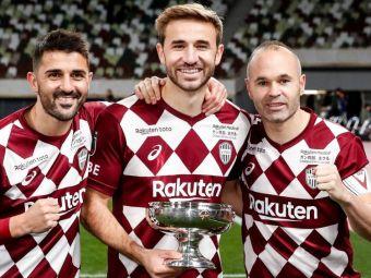 FANTASTIC! David Villa a luat Cupa la ULTIMUL meci jucat in cariera! Zi ISTORICA pentru echipa lui Iniesta, Podolski si Vermaelen