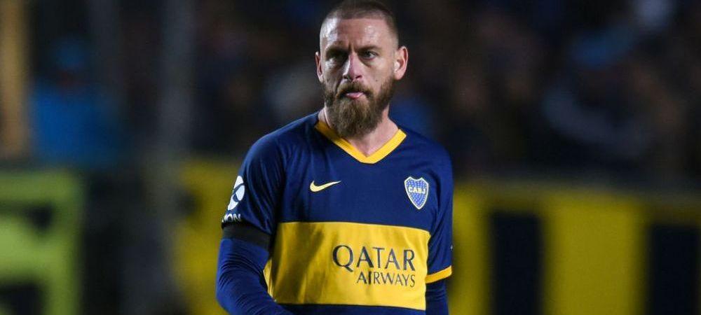Vestea trista a inceputului de an! Daniele De Rossi pleaca de la Boca Juniors dupa doar 6 luni! Ce decizie a luat fostul campion mondial