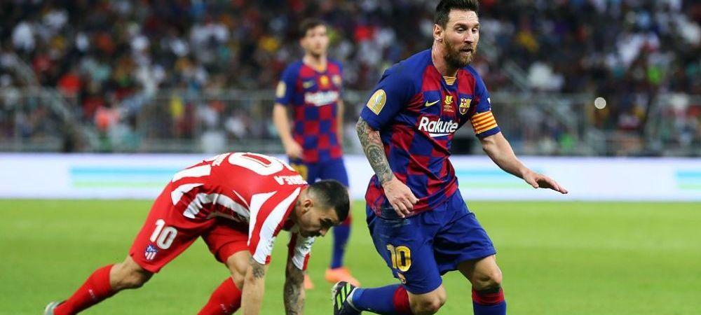 """""""E o rusine!"""" Reactia lui Messi dupa ce Barcelona a fost eliminata din Supercupa Spaniei! Ce spune starul argentinian"""