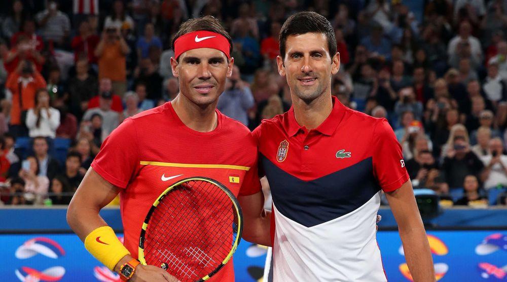 Rafael Nadal Novak Djokovic tenis Cupa ATP 2020