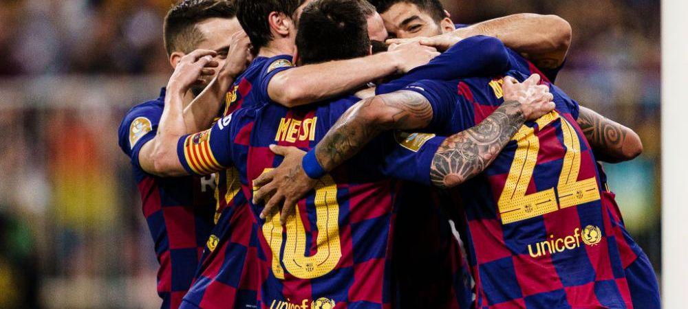 PREMIERA pentru Barcelona! A fost UMILITA de Liverpool si a castigat doar campionatul, insa a iesit pe PRIMUL LOC intr-un clasament neasteptat