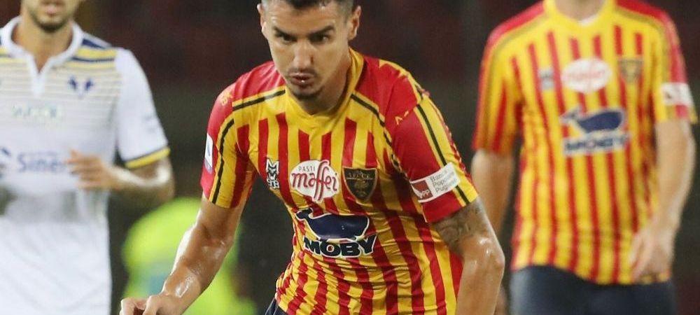 Benzar NU se intoarce in Romania! La ce echipa va juca dupa ce Lecce a renuntat la el