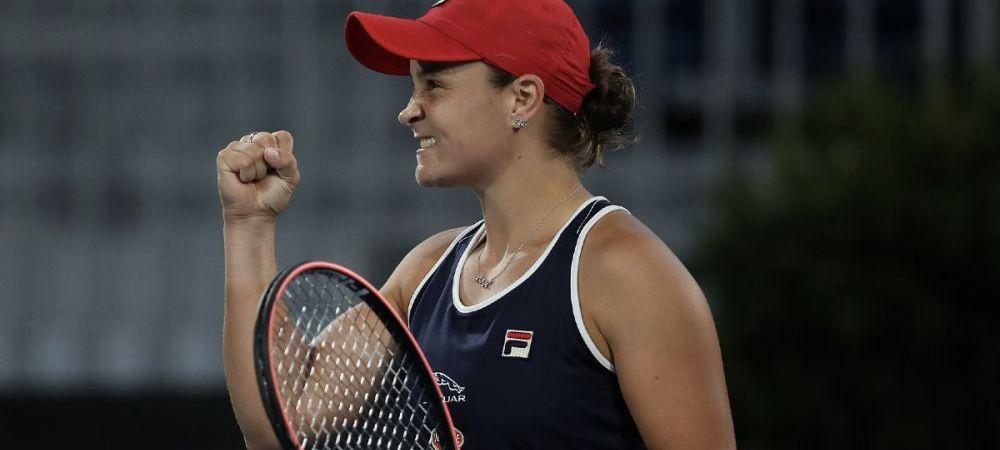 Liderul WTA, Ashleigh Barty a castigat turneul WTA Adelaide | La cate puncte in spate se afla Simona Halep acum